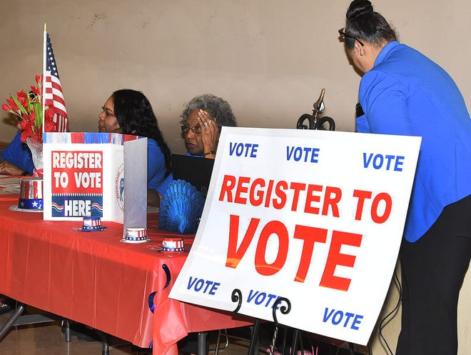 National Voter Registration Day is Sept. 24. To vote in Virginia's next election, register to vote by Oct. 15.