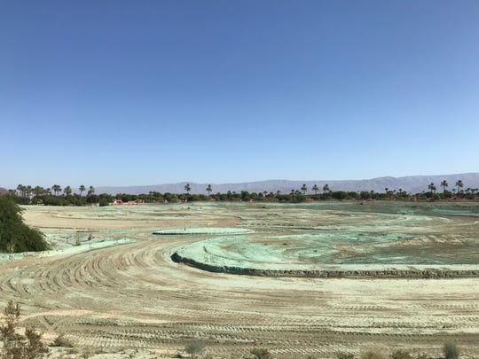 Grading is done and construction is set to begin in September 2019 on a new 14-acre, city-owned event center at SilverRock Resort in La Quinta. The site, which will include shaded walkways, restrooms, meandering stream, stage and more, is estimated to cost $6 million and be completed by March 2020. (Photo taken Aug. 28, 2019)