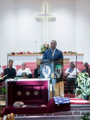 A public memorial for late Pensacola City Councilman Gerald C. Wingate takes place Wednesday at St. John Divine Missionary Baptist Church in Pensacola.