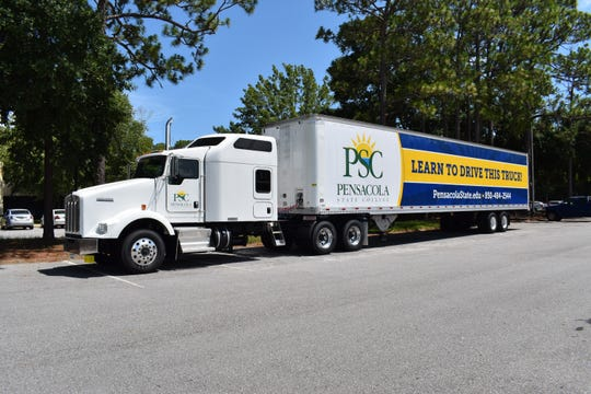 Pensacola State College has launched a new commercial truck driver training program.
