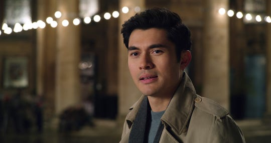 "Tom (Henry Golding) seems too good to be true in ""Last Christmas."""