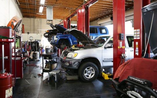 Whitey's Auto Repair on Aug. 28, 2019 in Scottsdale, Ariz.