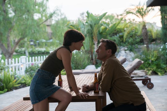 "Natalie Portman and Jon Hamm star in ""Lucy in the Sky."""
