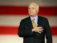 John McCain on the lips of Democratic presidential hopefuls at debate