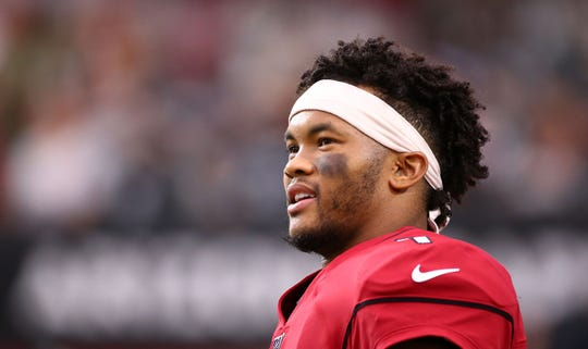 Arizona Cardinals quarterback Kyler Murray was named the NFL Offensive Rookie of the Year last season.