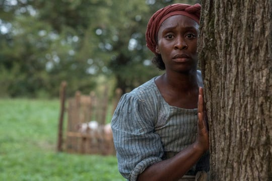 "Cynthia Erivo plays Harriet Tubman in ""Harriet."""