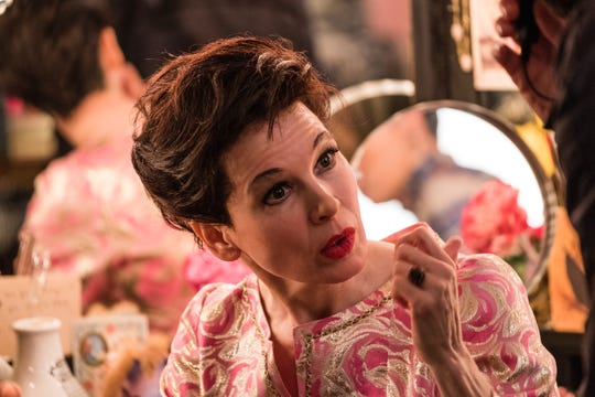 "In ""Judy,"" Renée Zellweger plays Judy Garland near the end of her life."