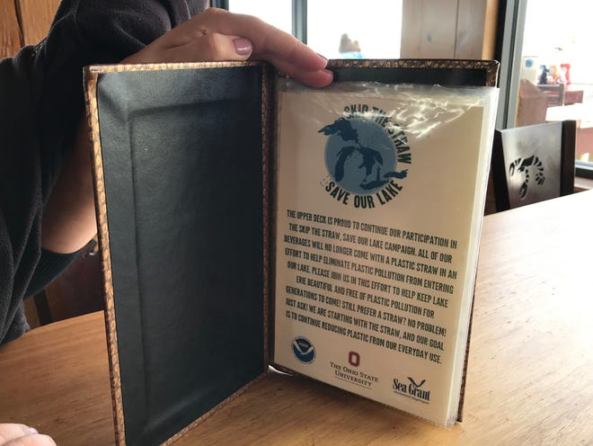 "Ohio Sea Grant and Ohio State University's Stone Laboratory on Gibraltar Island, just north of Put-in-Bay, partnered with the local Boardwalk restaurant to launch a ""Skip the Straw"" campaign in an effort to reduce plastic waste, which is continuing to pollute Lake Erie."