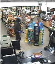 York City Police said the Sunoco A-Plus convenience store at 260 N. Sherman St. was robbed at gunpoint by this man about 1:30 a.m. Aug. 15. Photo courtesy of York City Police.