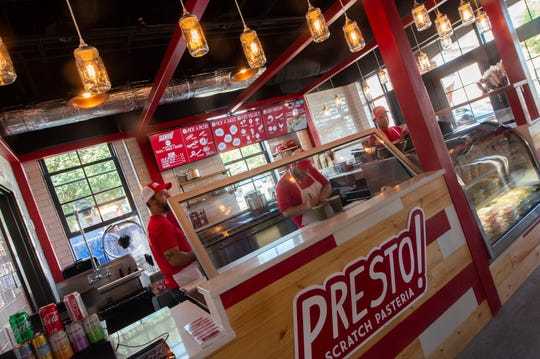 York-based O.N.E. Hospitality Group opened Presto Pasteria inside the Market at the Wilbur in Lititz on Thursday, Aug. 29, 2019. The market, located at 50 N. Broad St., is inside the former site of the Wilbur Chocolate complex. Rooster Street Butcher & Deli, Zig's Bakery, Waltz Vineyard, Oola Bowls, and Wiff Roasters join Presto Pasteria inside the Market at the Wilbur.