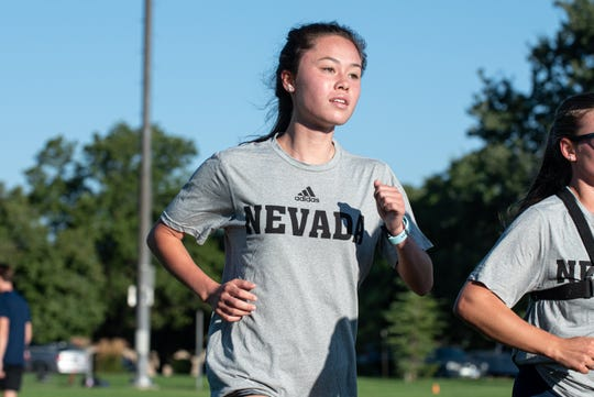 Lauryn Massic is a Spanish Springs graduate on the Nevada cross country team.