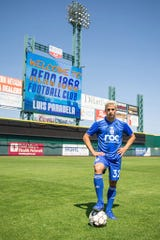 Luis Paradela is from Cuba and playing soccer for Reno 1868 FC.
