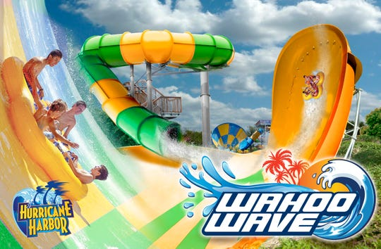The Wahoo Wave, a massive water slide, is planned for Six Flags Darien Lake in 2020.