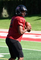 Senior quarterback Dwayne Lawhorn and the St. Cloud State football team opened up the 2019 season with a 35-12at the University of Mary on Thursday.