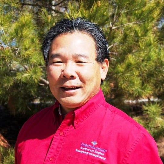 Steve Ikuta coordinates emergency management and preparedness for several Intermountain hospitals in southern Utah.