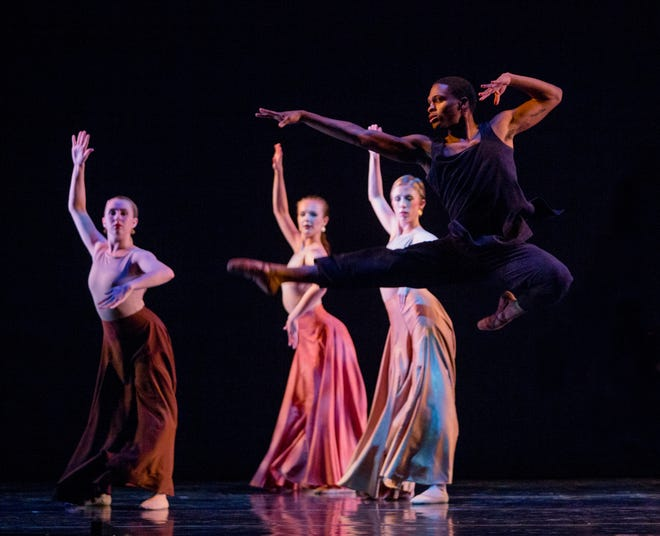 Meagan Helman choreographed the Tallahassee Ballet's Evening of Music and Dance.