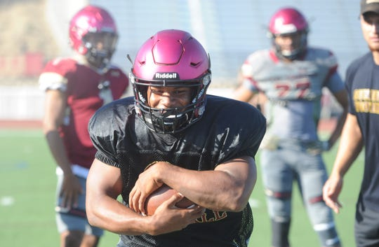 Mister Williams, who has offers from several big-time Division I college programs, is playing running back and linebacker for his senior season at Oaks Christian.