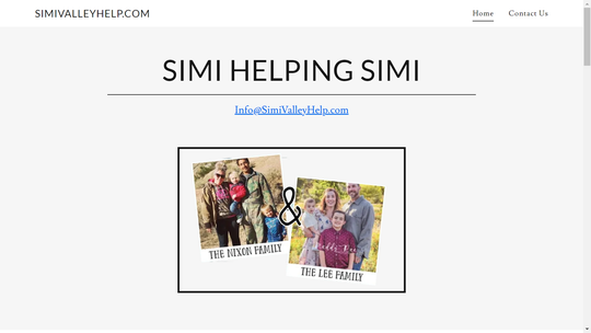 This website, http://simivalleyhelp.com, was created to support the two Simi Valley families injured in a boating accident over the weekend.