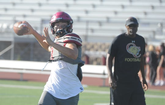 Quarterback Jameson Wang hopes to lead Oaks Christian to a big nonleague win over Grace Brethren on Friday night.