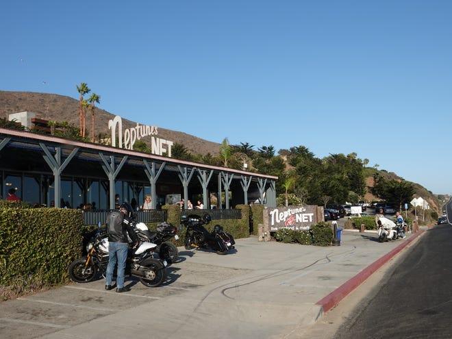 Neptune's Net on Pacific Coast Highway in Ventura County.