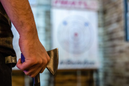 The idea for Bad Axe Throwing comes from the backyards of Canada where ax throwing is a pastime.