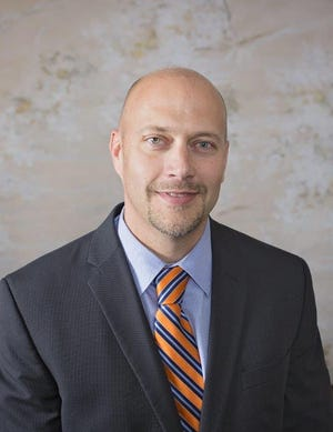 Tylor Chaplin, superintendent of Burkburnett ISD, was recently named as a finalist for Superintendent of the Year by the Texas Association of School Boards
