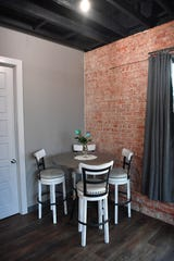 The 9th Street Lofts apartments feature exposed brick, large picture windows and high-end finishes.