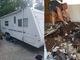 Kev Bryan of Dayton, Ohio rebuilds the floor of the family's 2002 trail cruiser by R-vision.
