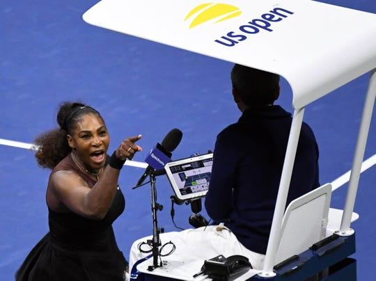 Serena Williams and chair umpire Carlos Ramos made headlines for all the wrong reasons during the US Open last year.