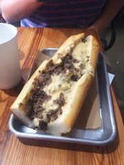 Cheesesteak from Woodrow's Sandwich Shop.