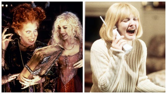 """""""Hocus Pocus"""" and the """"Scream"""" trilogy will be among the movies that Freeform airs during its 31 Nights of Halloween."""