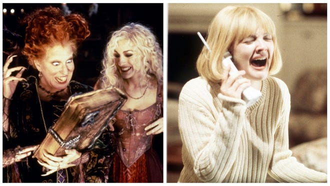 """Hocus Pocus"" and the ""Scream"" trilogy will be among the movies that Freeform airs during its 31 Nights of Halloween."