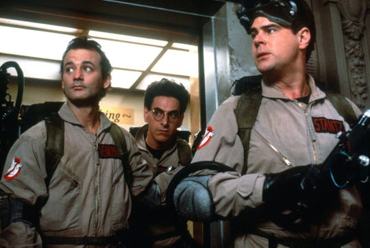 "The 1984 film ""Ghosbusters"" starred Bill Murray, Harold Ramis and Dan Aykroyd."