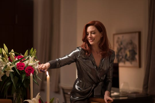 """Anne Hathaway gets ready for romance in this exclusive photo from Amazon's """"Modern Love"""" series."""