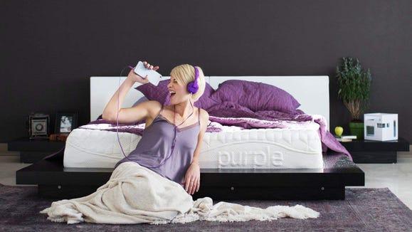 Purple makes a mattress so weird, we can't help but love it.