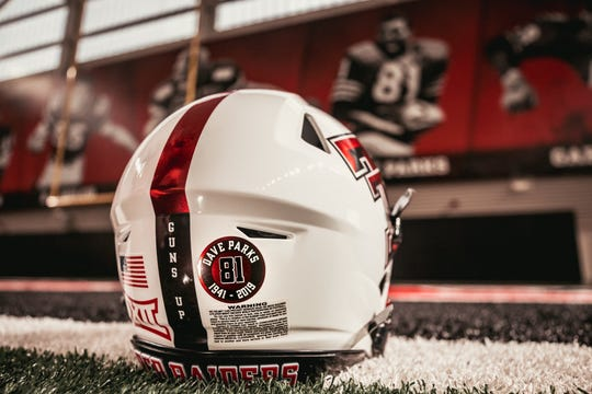 The Texas Tech football team will honor the late Dave Parks with a helmet sticker for all 12 games this season. Parks, an Abilene native, was an All-American, an All-Pro and is in the College Football and Texas Sports Hall of Fames as well as the Texas Tech Ring of Honor.