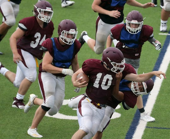 South Kitsap's football team is counting on a physical rushing attack on offense heading into the 2019 season.