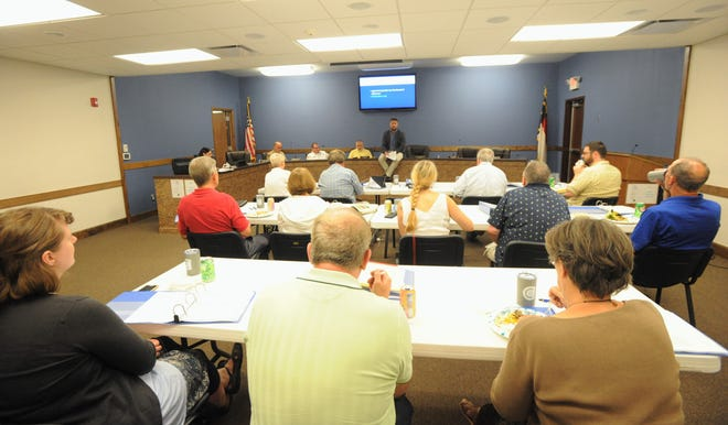 The Black Mountain Citizens Academy, a seven-week course designed to help local residents learn more about the role and function of their local government, got underway for its second year on Aug. 28, in the boardroom at Town Hall.