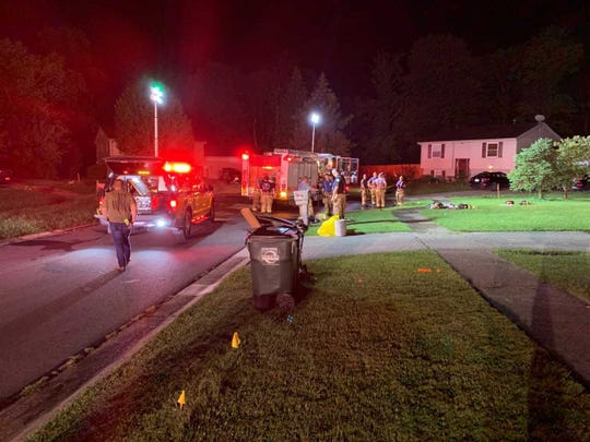The Union Township Fire Department responded to a single-family house-fire early Friday morning.