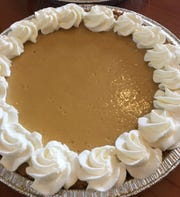 Key lime pie from Christie's Artisan Bread & Pastry Shop.