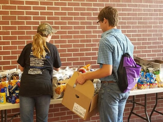 Donations collected at Ellsworth Community College after fire