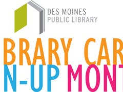 Des Moines Public Library celebrates Library Card Sign-up Month
