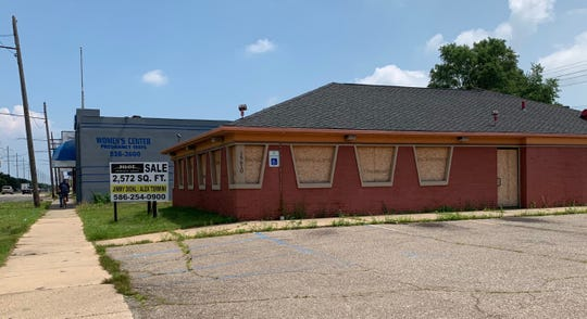 Boarded up and closed down, this location is on East 8 Mile. Captured July 11.