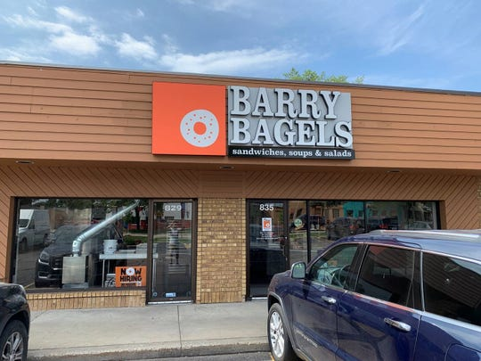 The grab-and-go location offers 17 types of bagels, deli sandwiches, soups, salads and java from Lake Orion small-batch roaster White Pine Coffee, said franchisee owner Robert Rosender.