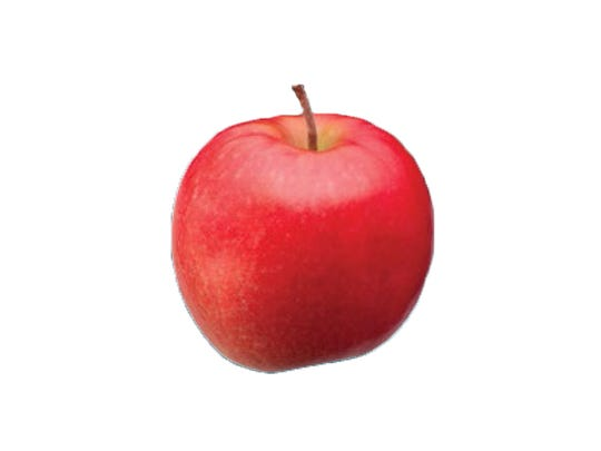 Cripps Pink: Pinkish skin with crisp, juicy flesh. Tart with a sweet finish. Available: Nov. 5