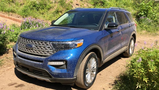 The 2020 Ford Explorer.