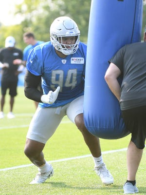 Lions defensive end Austin Bryant has missed most of training camp and the preseason with an injury.