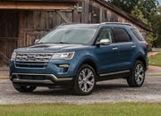 Ford is recalling more than 550,000 trucks and SUVs in North America, including the 2019 Ford Explorer Limited Luxury Edition, shown, because seat backs may not properly restrain people in a crash.