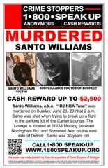 Crime Stoppers announced the reward on Thursday.