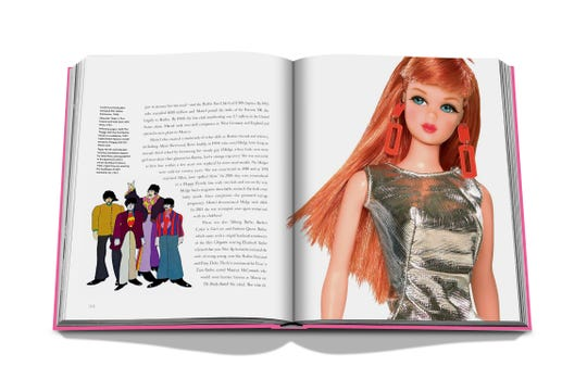 "From ""Barbie: 60 Years of Inspiration."""